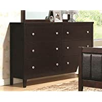 Coaster 202093 Home Furnishings Dresser, Cappuccino