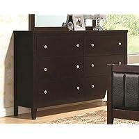 Coaster 202093 Home Furnishings Dresser, Cappuccino