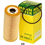 Mann-Filter HU 726/2 X Metal-Free Oil Filter