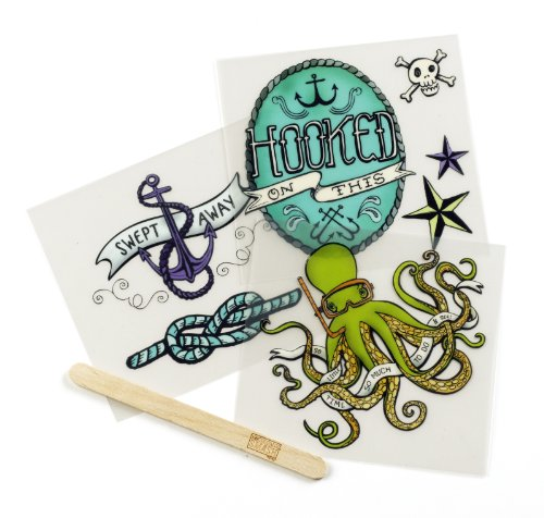 K&CompanySmash Scrapbook Rub-Ons, Nautical (Rub Ons Tattoos)