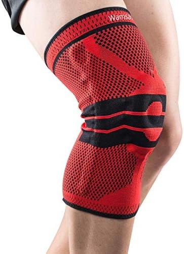 Wamsatto Kniebandage Knieschoner Kniestütze Elastische Knieorthese für Damen und Herren
