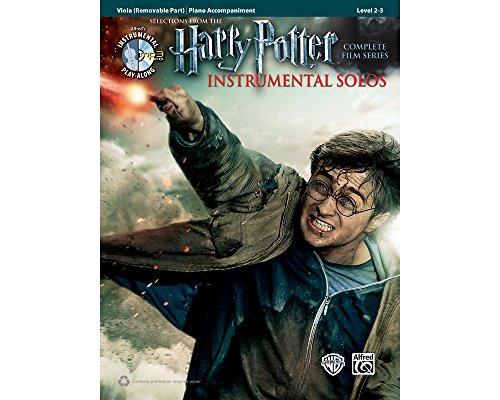 Alfred Harry Potter Instrumental Solos for Strings - Viola (Book/CD) - Portrait Potter