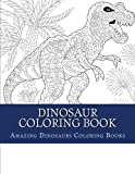 Dinosaur Coloring Book (T Rex, Stegosaurs, Triceratops, Parasaurolophus and More)