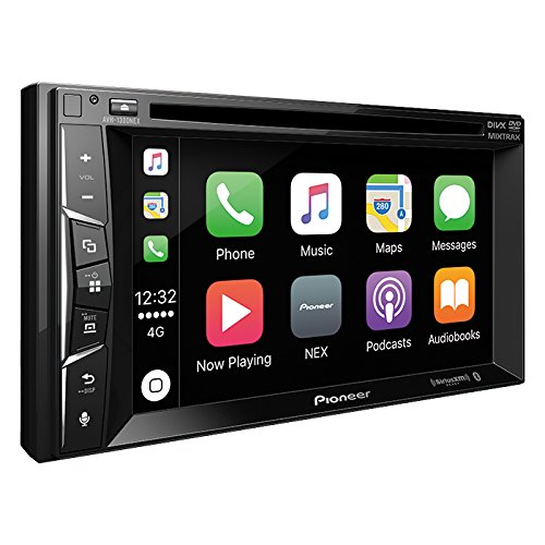 Pioneer AVH-1300NEX Multimedia DVD Receiver with 6.2″ WVGA Display/Apple CarPlay/Built-in Bluetooth/SiriusXM-Ready/AppRadio Mode +