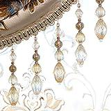 Wildgirl Curtain Macrame Braid Crystal Bead Pendant Gimp 1 Meter (# 25)