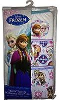 Disney Frozen Girl's Underwear Panties Anna and Elsa, 3 Pack