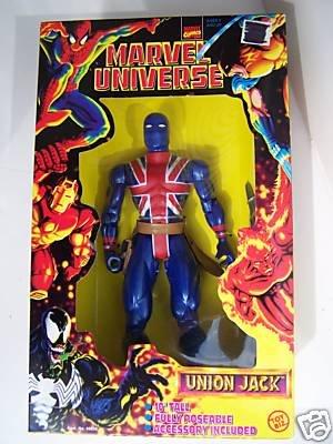 Marvel Universe Union Jack 10 Inch Figure