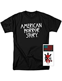 American Horror Story Logo T Shirt & Exclusive Stickers
