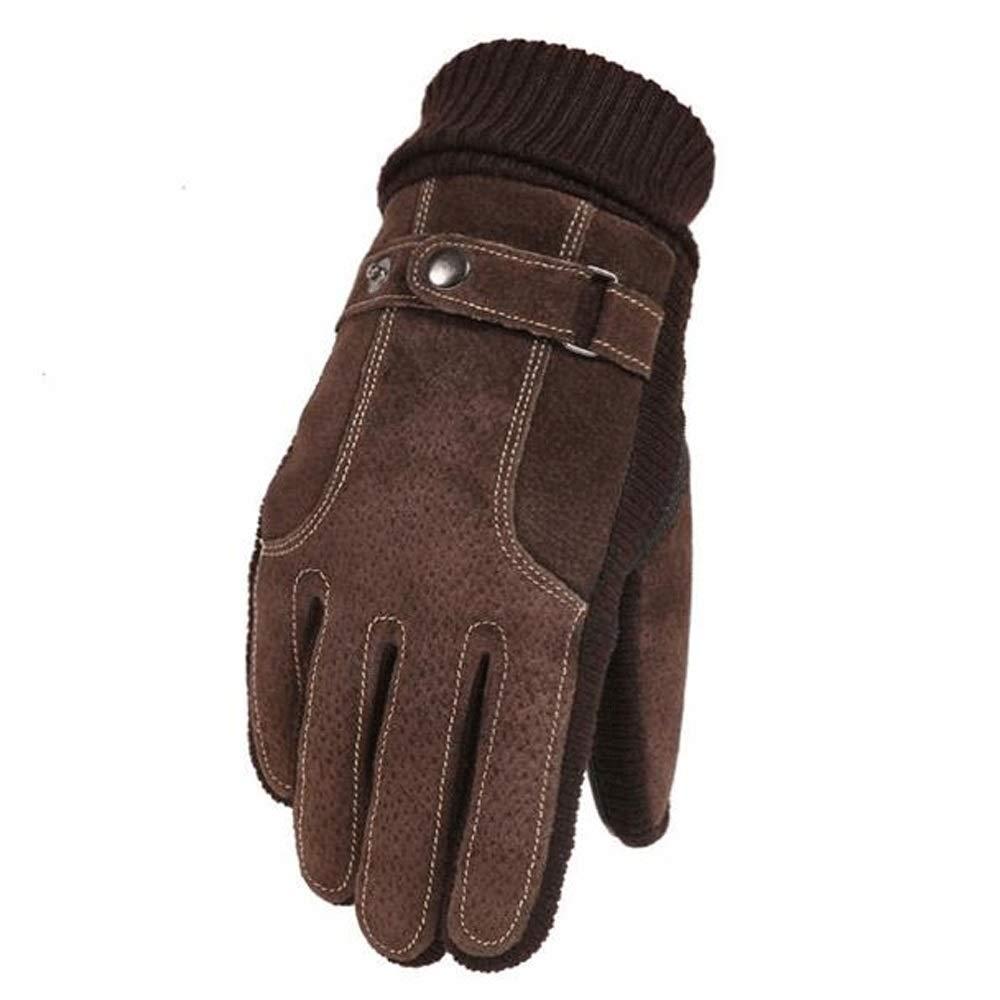 LBYMYB Männer Handschuhe Dünne Abschnitt Sommer Rutschfeste Finger Bezieht Sich Auf Schmutzige, Abriebfeste Handschuhe Handschuh (Farbe   Beige-1)