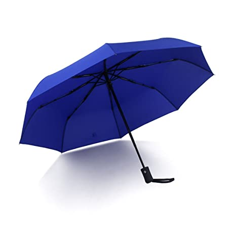 Espeedy Auto abierto de viaje cerca paraguas exterior compacto ligero automático lluvia sol mini paraguas