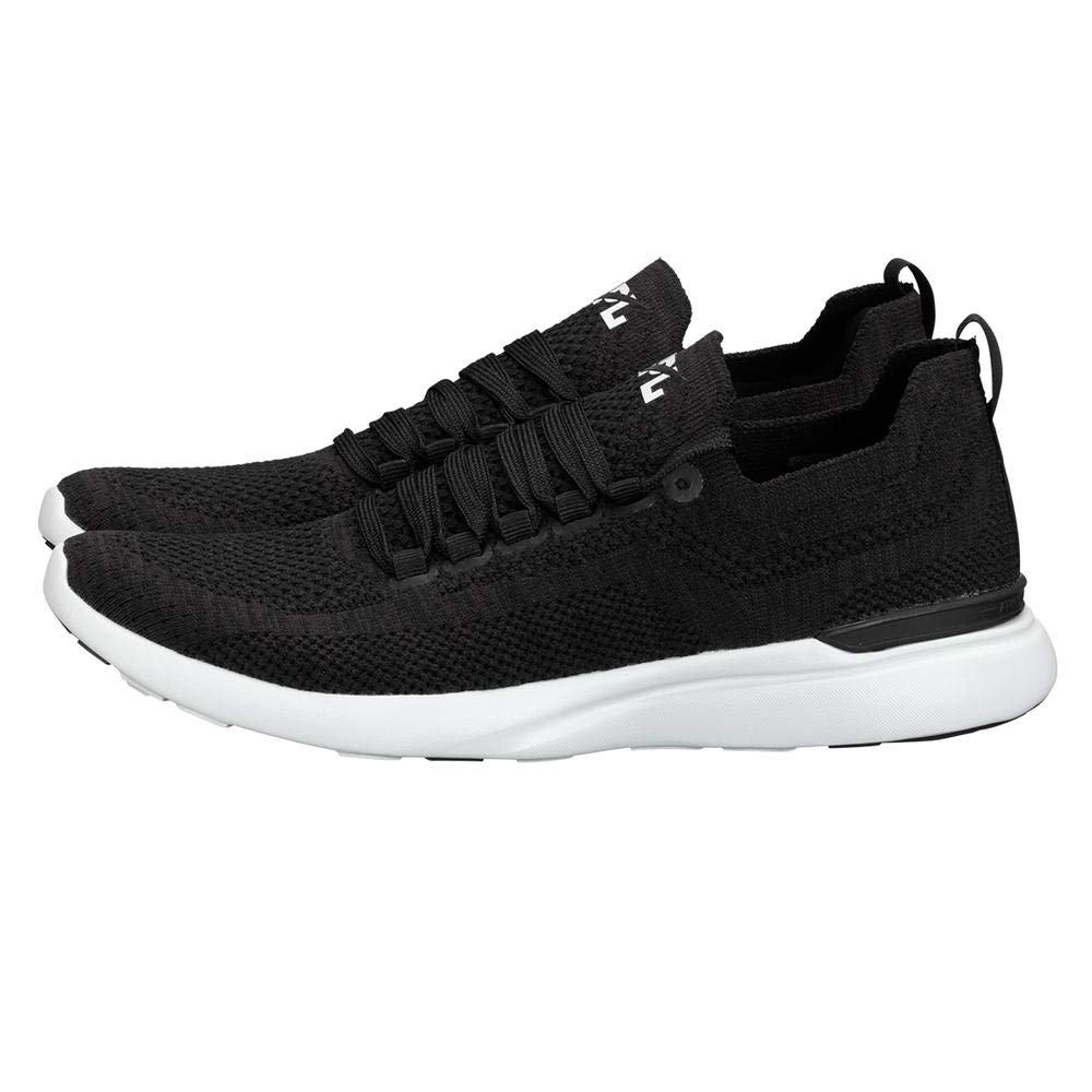 Image of APL: Athletic Propulsion Labs Men's Techloom Breeze Sneakers (Black/Black/White) (11.5 D US, Black/Black/White) Fitness & Cross-Training