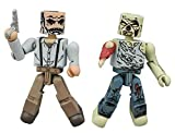 Hilltop Leader Gregory & Forest Zombie Walking Dead Minimates