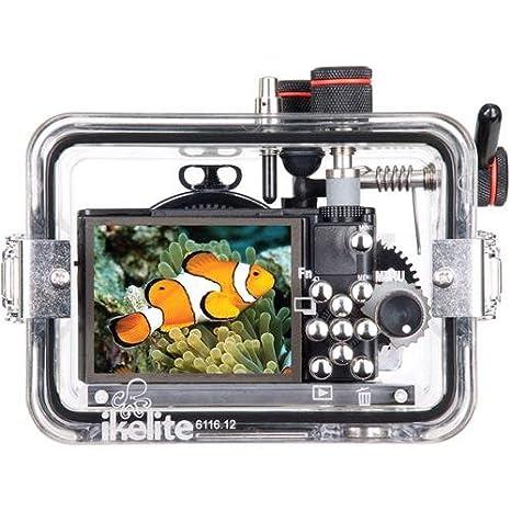 Amazon.com: Ikelite 6116.12 carcasa submarina para cámara ...