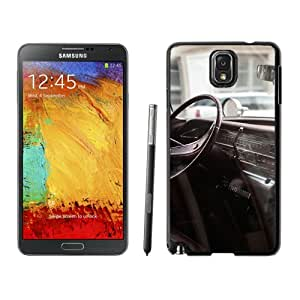 Driver Seat Macro Photography Hard Plastic Samsung Galaxy Note 3 Protective Phone Case