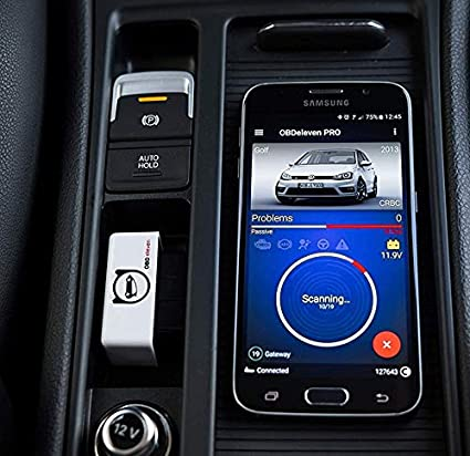Compatible con AUDI /Škoda Herramienta de escaneo OBD2 para Android Seat OBDeleven Ultima edici/ón por Voltas IT
