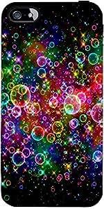 Snoogg Burbujas Diseñador Universales De Protección Volver Funda Para El Ipho...