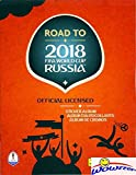 2018 Panini Road to FIFA World Cup Russia Stickers HUGE 64 Page Collectors Album with TEN(10) Bonus Stickers! Great Collectible to Hold all your NEW World Cup Soccer Stickers! WOWZZER!