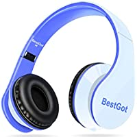 [New Style] BestGot Headphones Over Ear with microphone...