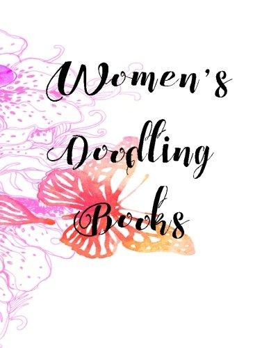 Women's Doodling Books: Bullet Grid Journal, 8 X 10, 150 Dot Grid Pages (sketchbook, Journal, Doodle)