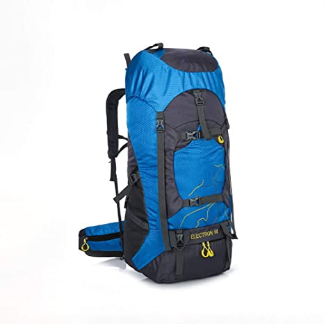 XAJGW 60L Senderismo Mochila Mochila Impermeable al Aire Libre Deporte Daypack para Escalar montañismo Acampar Pesca
