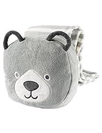 Carter's Baby Boys' Bear Blanket Pals, Grey