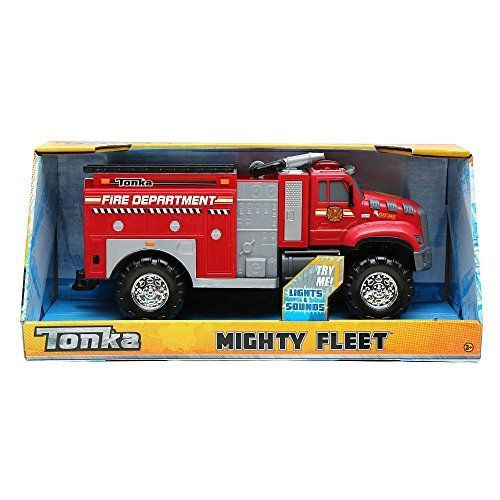 (Tonka Mighty Fleet Tough Cab Fire Pumper)