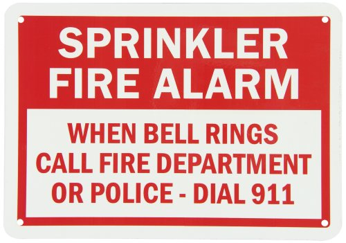 Department Bell (SmartSign Aluminum Sign, Legend
