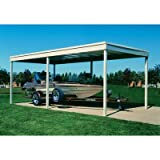 Arrow Freestanding Patio Cover/Carport - 10ft. x 20ft., Model# CP1020