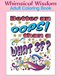img - for Whimsical Wisdom: Adult Coloring Book book / textbook / text book