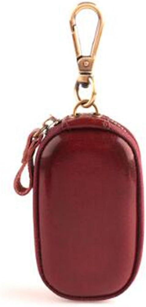 YSHB,Business key bag,Waist hanging key bag,Handmade key bag,Korean key bag,Dark brown,95.52.5CM