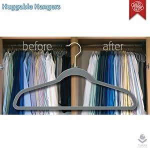 Huggable Hangers® (50) by Joy Mangano - Percha estándar (Huggable Hangers® (50))