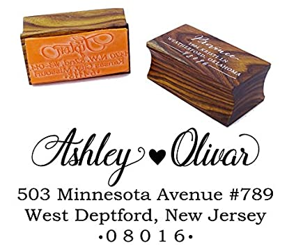 Personalized Wood Mounted Rubber Stamp Custom Wedding Invitation Stamp Wedding Gift Printtoo