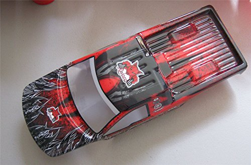 10 Painted Body (New RedCat Racing Everest-10 Fully Painted Red Body W/Body Clips)