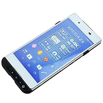 buy popular 933d6 ca755 MP power @ 3500mAh External Battery Charger Case Black for Sony Xperia Z3+  Z3 PLUS Z3 plus E6553