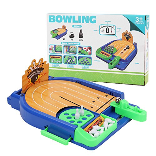 Yueqi kids funny toys table sports toys mini bowling game