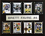 NFL Brett Favre Minnesota Vikings 8 Card Plaque
