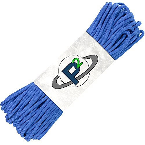 50' 550 Lb Type (Paracord Planet Mil-Spec Commercial Grade 550lb Type III Nylon Paracord 50 feet Royal Blue)