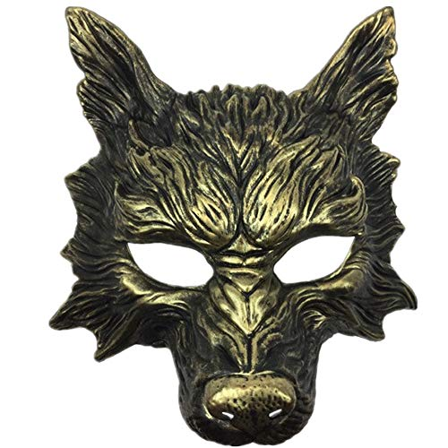 Scary Devil Costumes - Storm Buy] Wolf Mask Steampunk Style