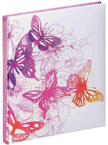 Pagna Poesiealbum Pink Butterfly 128 Seiten