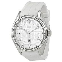 Hugo Boss White Dial White Polyethylene Mens Watch 1512422