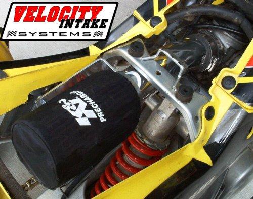 Malone Motorsports VelI-Z400-1 Suzuki Z400 Velocity Intake System with K&N Filter by Velocity Intake Systems (Image #2)