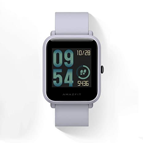 WOSOSYEYO Xiaomi Huami Bip Pulsera Smartwatch GPS Ip68 ...