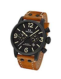 TW Steel Men's MS33 TW Steel Maverick Analog Display Quartz Brown Watch