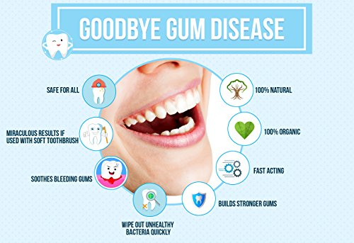 Goodbye Gum Disease - Organic Home Remedy for Oral Gum Disease | 100% Pure  Neem and