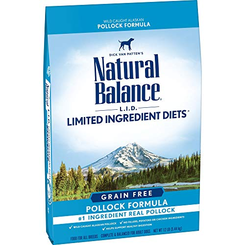 Natural Balance Limited Ingredient Diets Grain Free Dry Dog Food Pollock