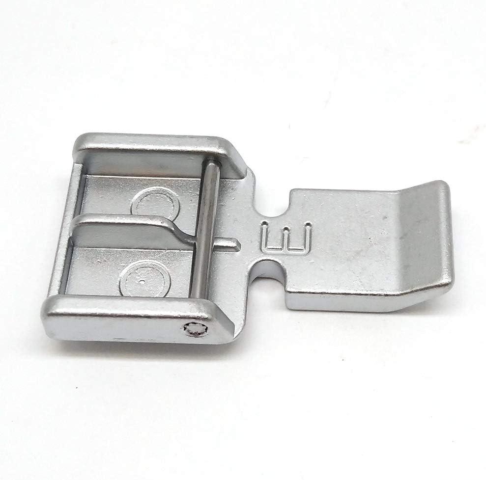 HONEYSEW 829801002 - Pie de cremallera para máquina de coser Janome (7 mm): Amazon.es: Juguetes y juegos