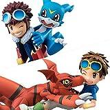 G.E.M Series Digimon Adventure 02 Buimon & Daisuke Motomiya + Digimon Tamers Guilmon & Takato Matsuda