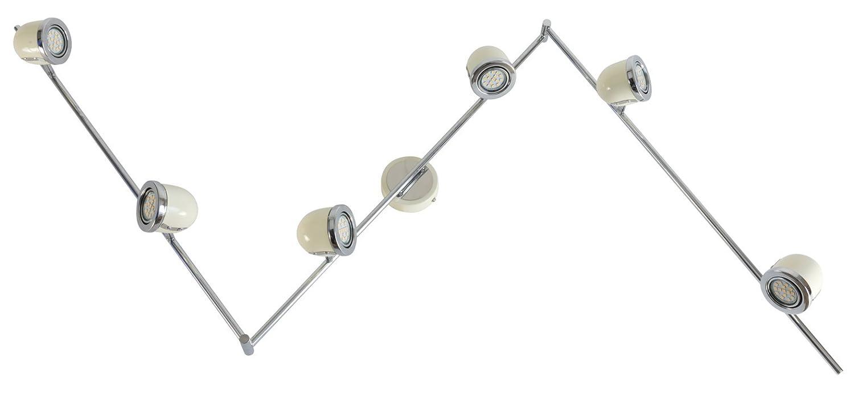 HEITRONIC Deckenstrahler BEL AIR 6-flammig Deckenleuchte inkl. 6x 3W LED GU10 Leuchtmittel
