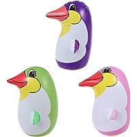 STOBOK 3Pcs Inflable pingüino Juguete pingüino Vaso