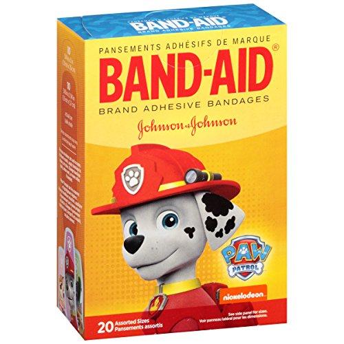 Band-Aid Adhesive Bandages, Nickelodeon Paw Patrol, 20 Count